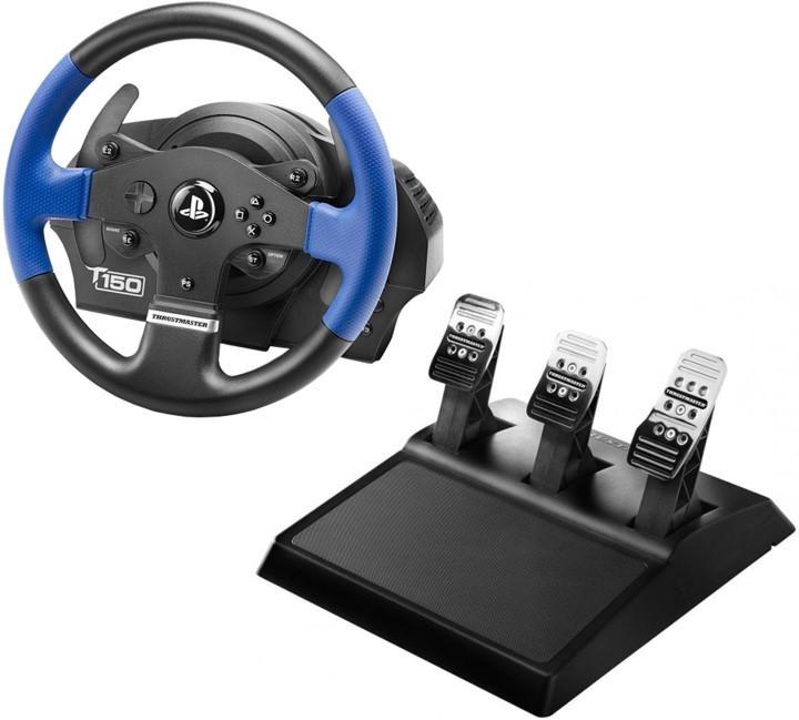 Thrustmaster Sada volantu T150 PRO a 3-pedálů T3PA pro PS4, PS3 a PC (4160696) 4160696