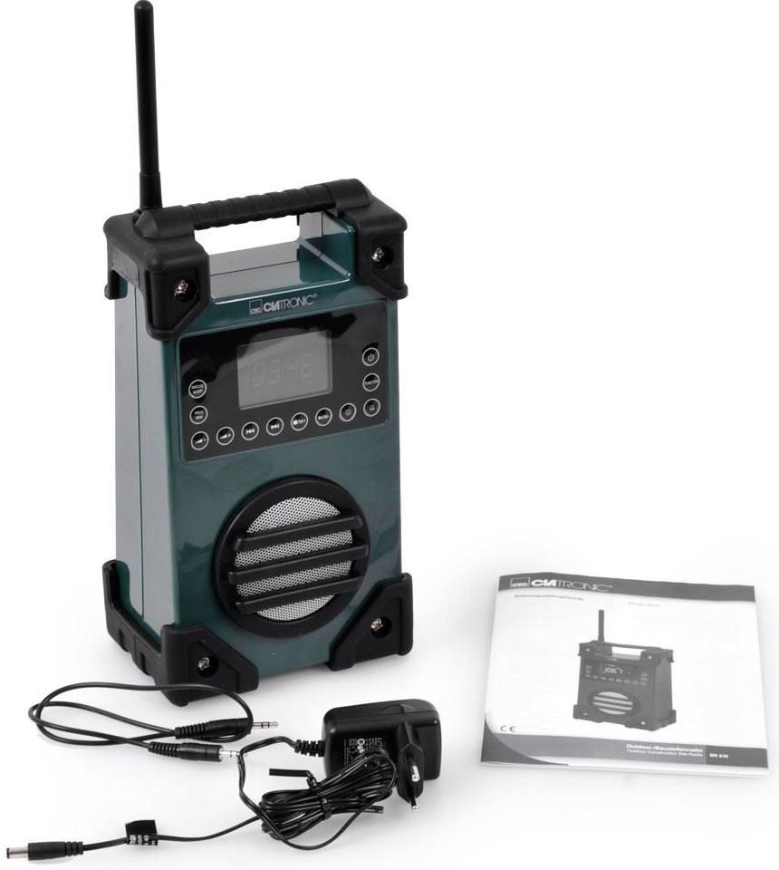Outdoorové rádio Clatronic BR 836