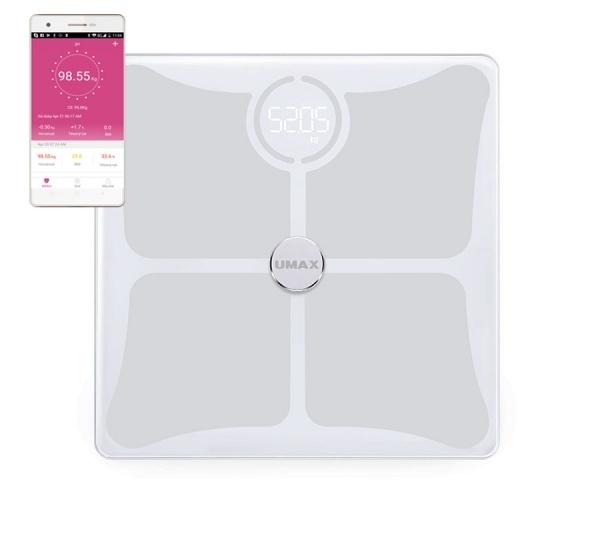 Chytrá osobní váha UMAX Smart Scale US10C