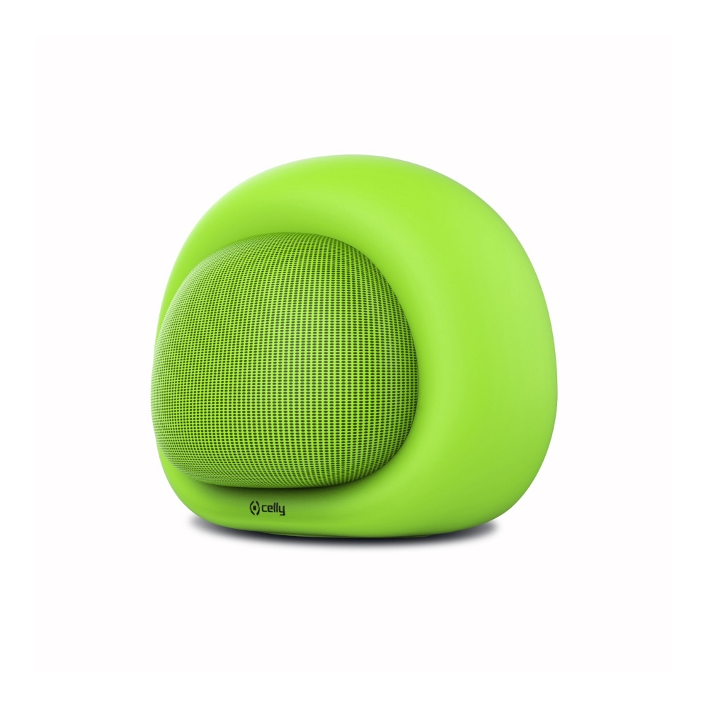 Bluetooth reproduktor CELLY Bubble Beat, zelený - Zelený COLORSPEAKER03