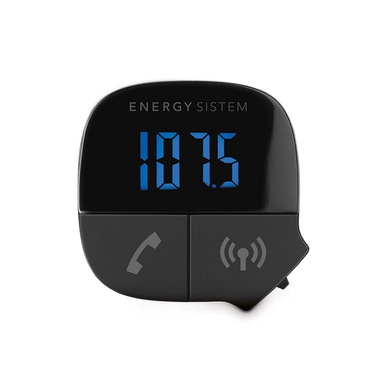 ENERGY Car Transmitter Music Bluetooth, Bluetooth 2.1, 7-segmentový LED displej 424313