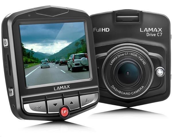LAMAX DRIVE C7 - kamera do auta 8594175350319