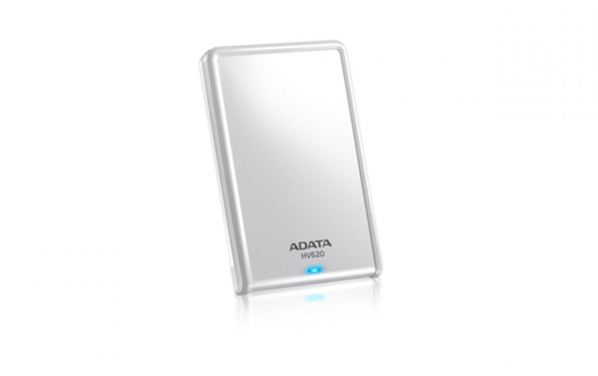 """ADATA HV620 1TB Ext. 2.5"""" HDD bílý AHV620-1TU3-CWH"""