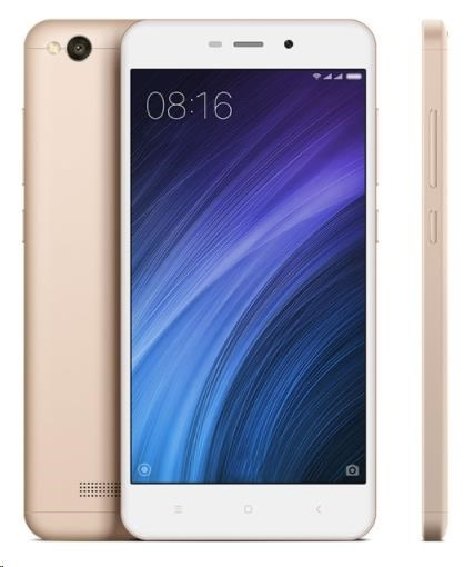 Xiaomi Redmi 4A Global, Dual SIM, CZ LTE 16GB, zlatá PH3690