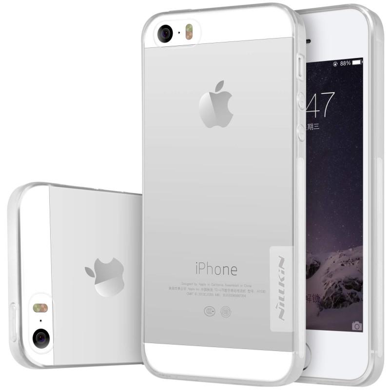 Obal Nillkin Nature TPU pro iPhone 5/5S/SE - čirý