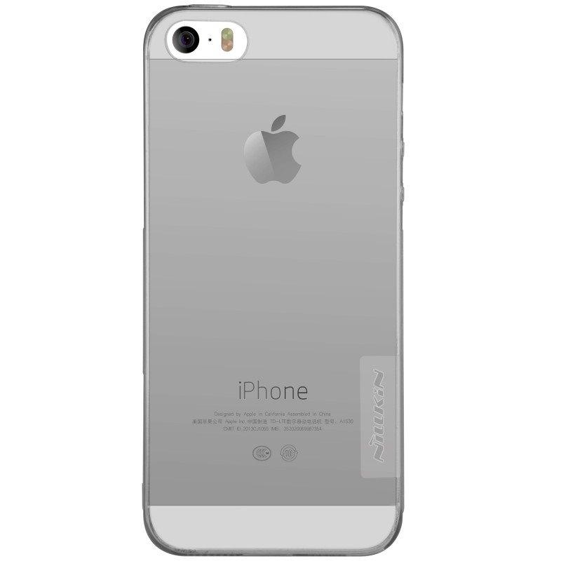 Obal Nillkin Nature TPU pro iPhone 5/5S/SE - kouřový