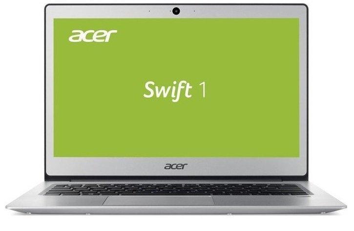 "Trhák Acer Swift 1 - 13""/N4200/4G/64GB/W10 stříbrný NX.GP1EC.004"