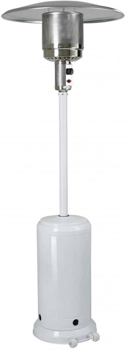 Plynové zahradní topidlo MEVA ETNA - barva bílá TZ02001