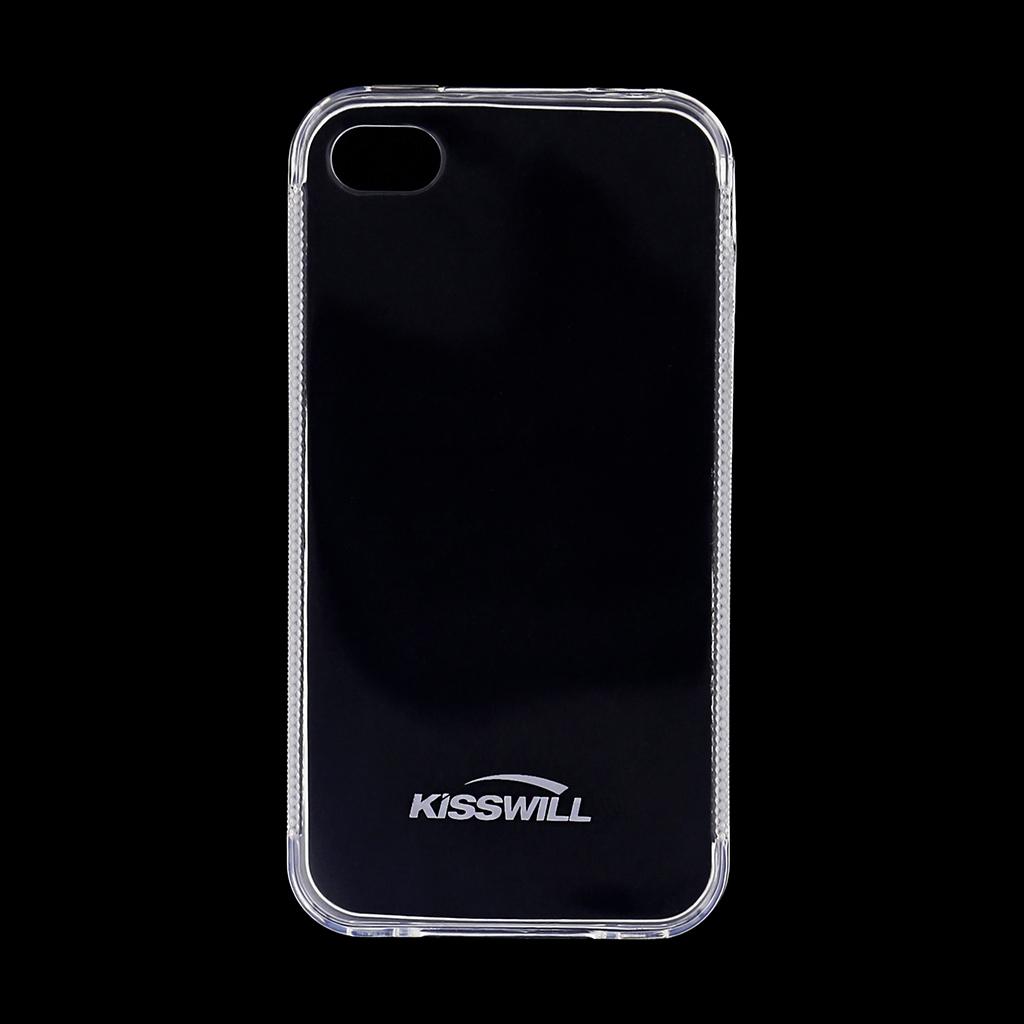 Kisswill TPU Pouzdro Transparent pro iPhone 4/4S
