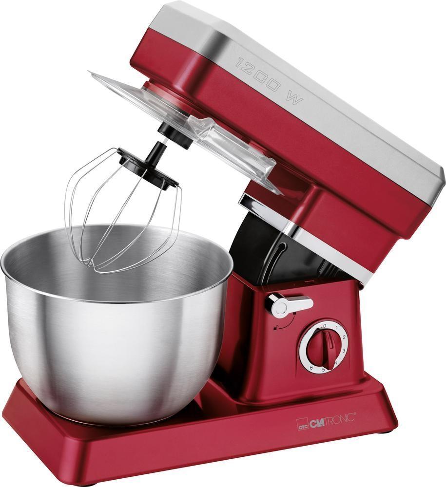 Kuchyňský robot Clatronic KM 3630, 1200 W - červený