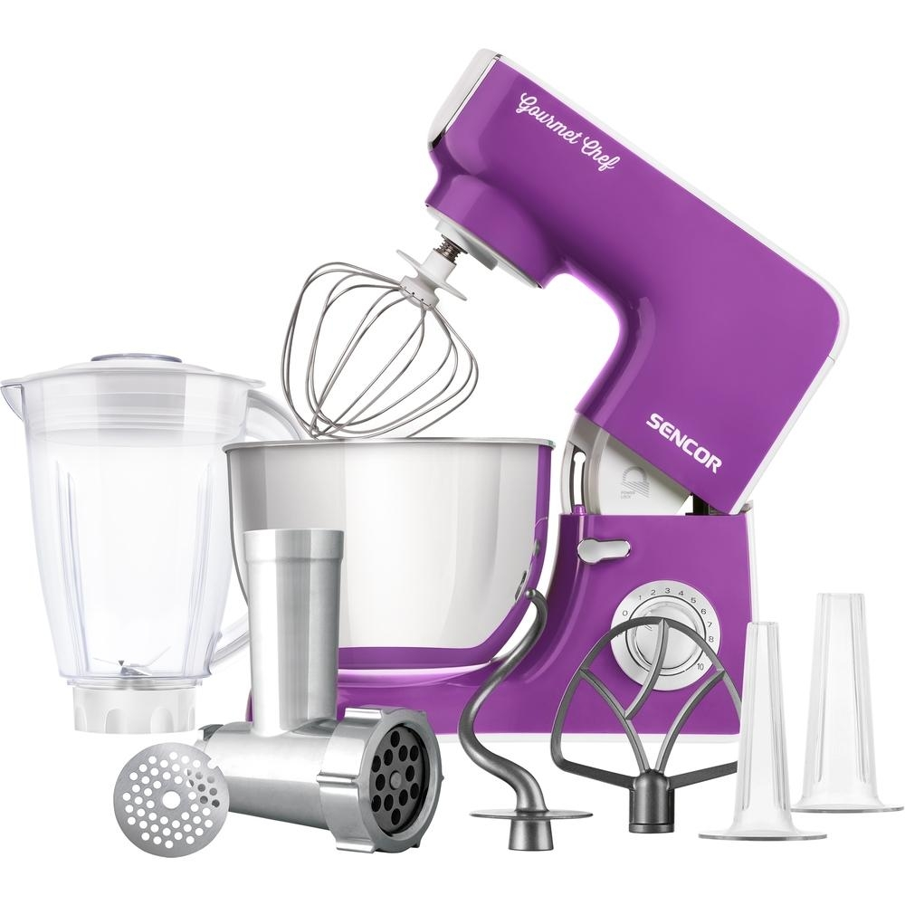 Kuchyňský robot SENCOR STM 3775VT - fialový