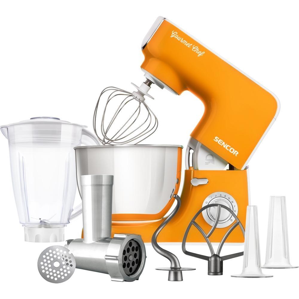 Kuchyňský robot SENCOR STM 3773OR - oranžový