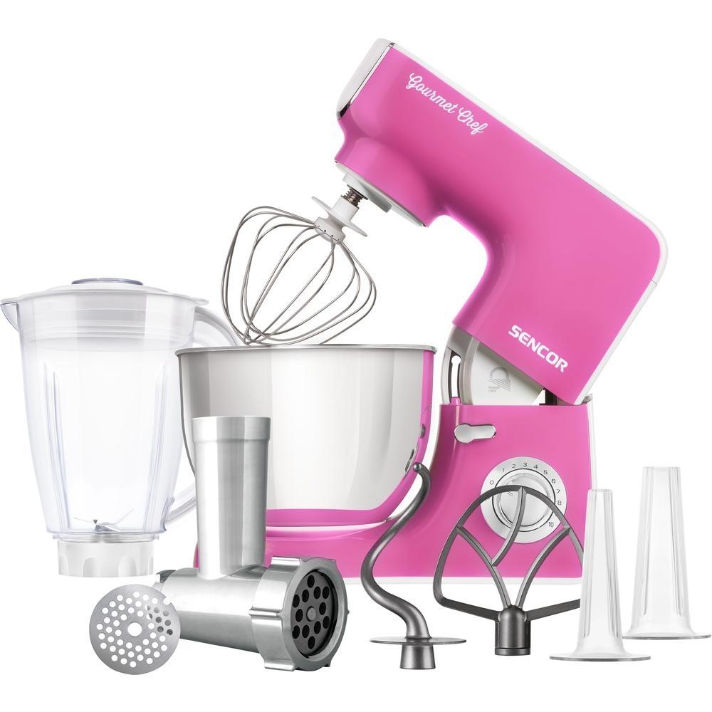 Kuchyňský robot SENCOR STM 3778RS - růžový