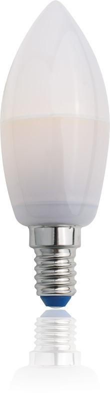 LED žárovka TESLA CRYSTAL SVÍČKA, 3,5W, E14, studená bílá