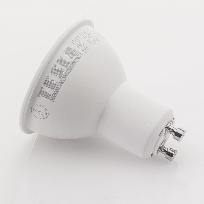 LED žárovka TESLA, 5W, GU10, studená bílá