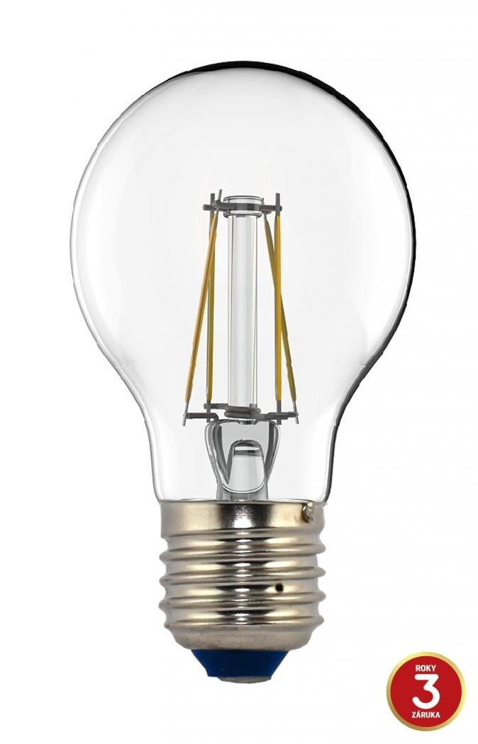 LED žárovka TESLA CRYSTAL RETRO BULB, 4W, E27, teplá bílá