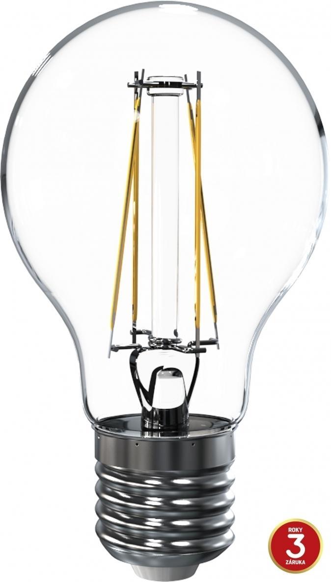 LED žárovka TESLA CRYSTAL RETRO BULB, 6,5W, E27, teplá bílá