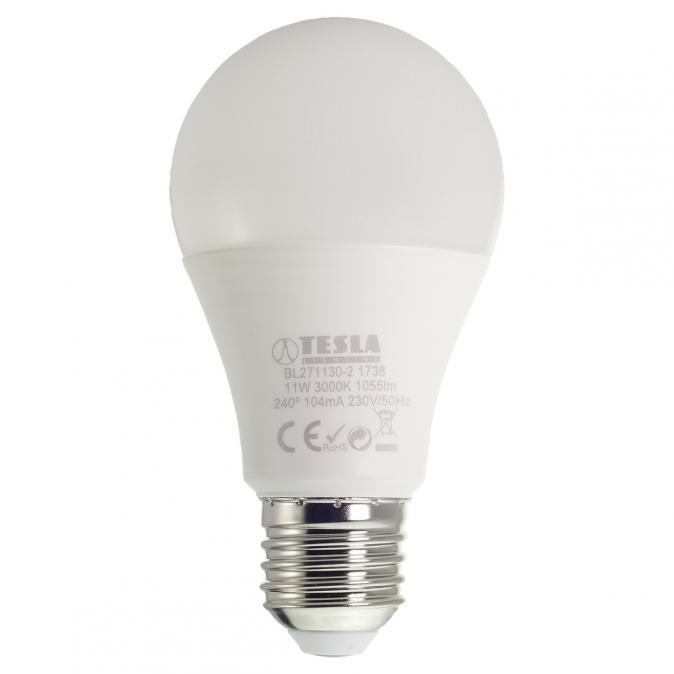 LED žárovka TESLA BULB, 11W, E27, teplá bílá