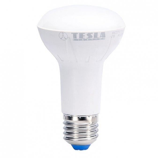 LED žárovka TESLA Reflektor R63, 7W, E27, teplá bílá