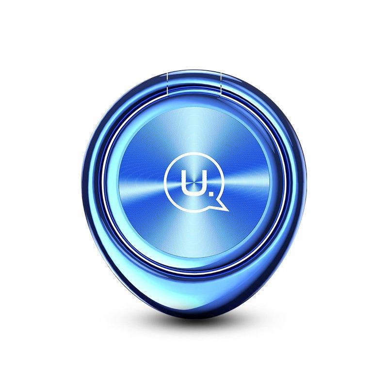 Magnetický držák mobilu na prst USAMS ZJ024 - modrý ZJ024-BLUE