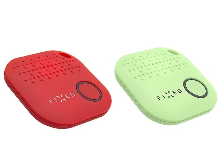 Key finder FIXED Smile, DUO PACK - červený + zelený FIXSM-SMILE-RDGN