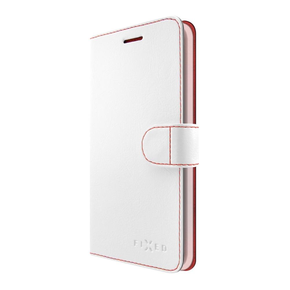Pouzdro typu kniha FIXED FIT pro Huawei P9 Lite Mini, bílé FIXFIT-244-WH
