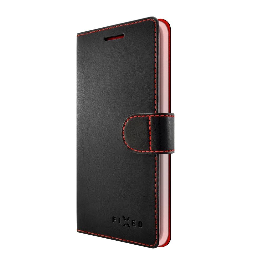 Pouzdro typu kniha FIXED FIT pro Samsung Galaxy J3 (2017), černé FIXFIT-166-BK