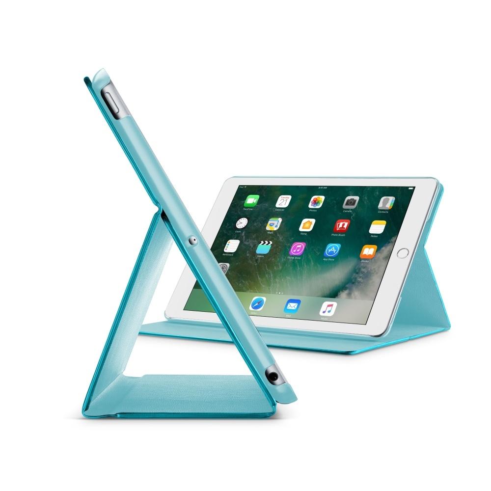 """Pouzdro se stojánkem CellularLine FOLIO pro Apple iPad Pro 10,5"""", tyrkysové FOLIOIPADPRO105B"""