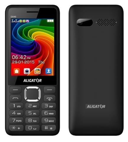 ALIGATOR D940 Dual sim černý - černý AD940BG