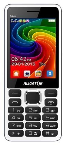 ALIGATOR D940 Dual sim bílý - bílý AD940WG