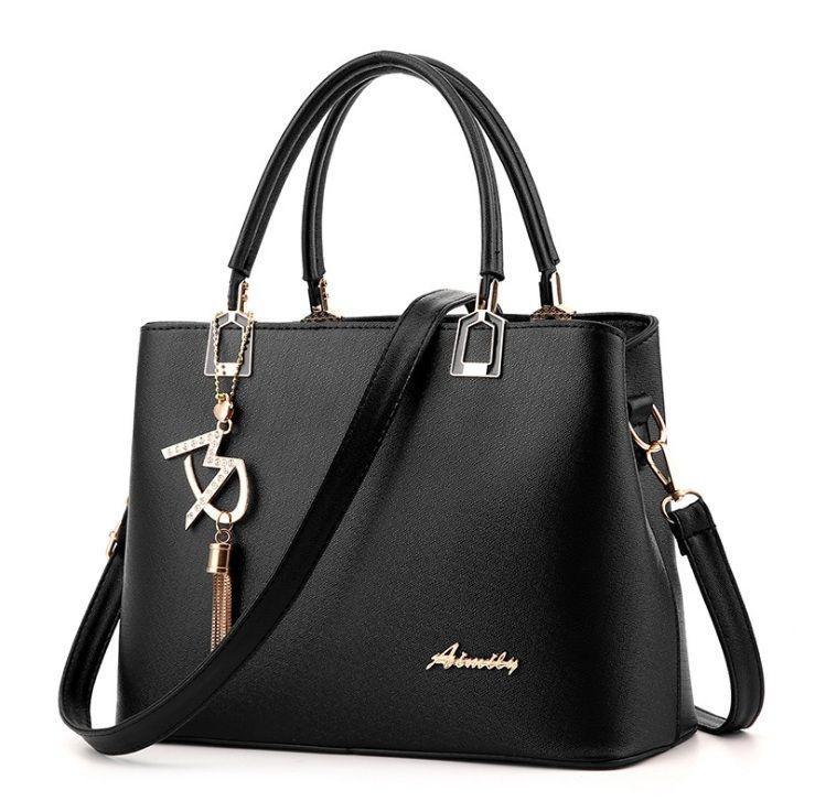 Dámská elegantní kabelka Aimily, černá