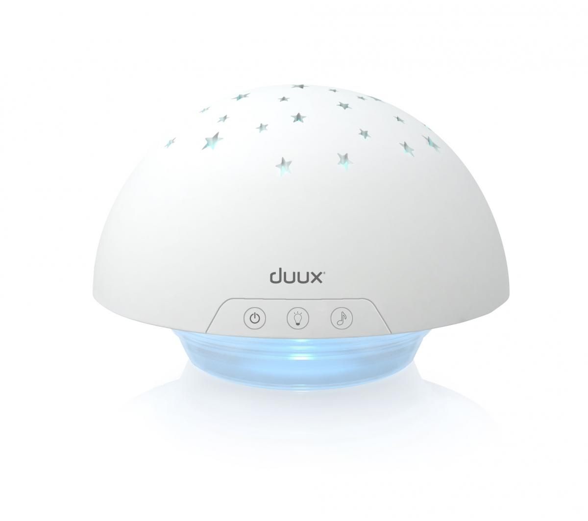 Dětský projektor DUUX Mushroom white - bílý