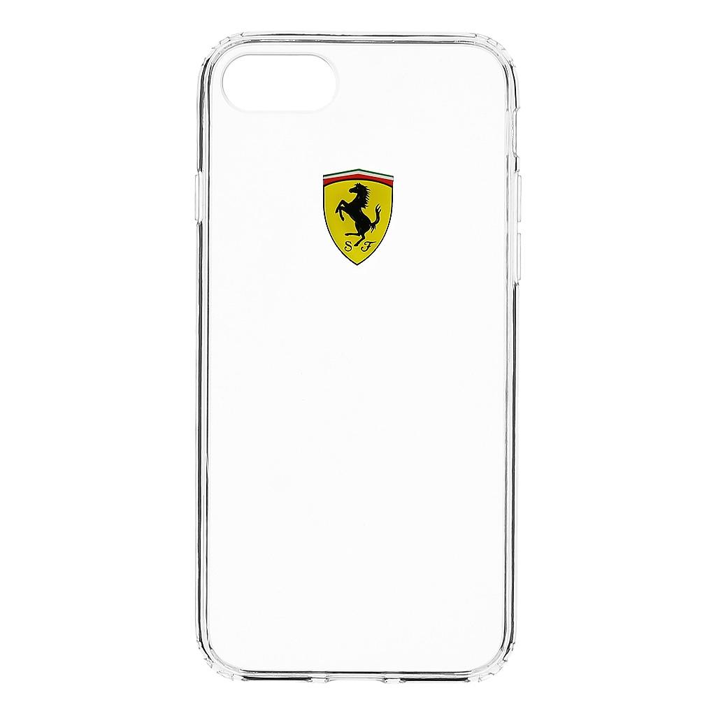 Zadní kryt Ferrari Racing TPU pro iPhone 7/8 FEHCP7TR1
