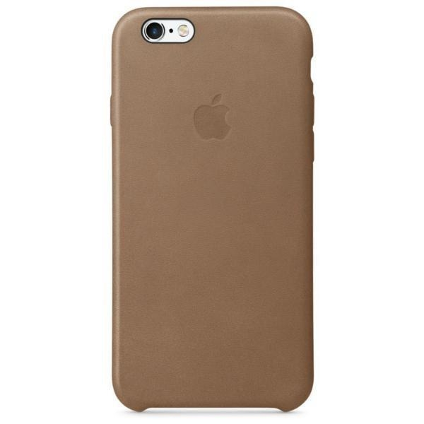 MKXR2BZ/A Apple Leather Case Brown pro iPhone 6/6S(EU Blister) MKXR2BZ/A