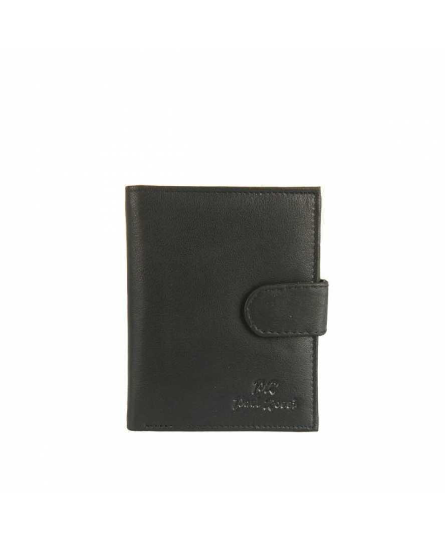 Paul Rossi pánská peněženka z pravé kůže 509-GPS, černá
