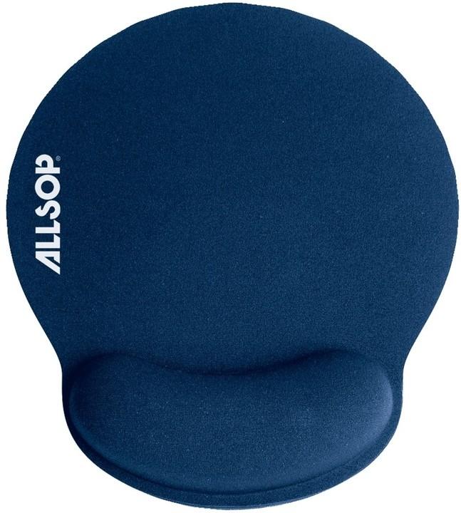 Allsop Gelová podložka pod myš modrá 05941