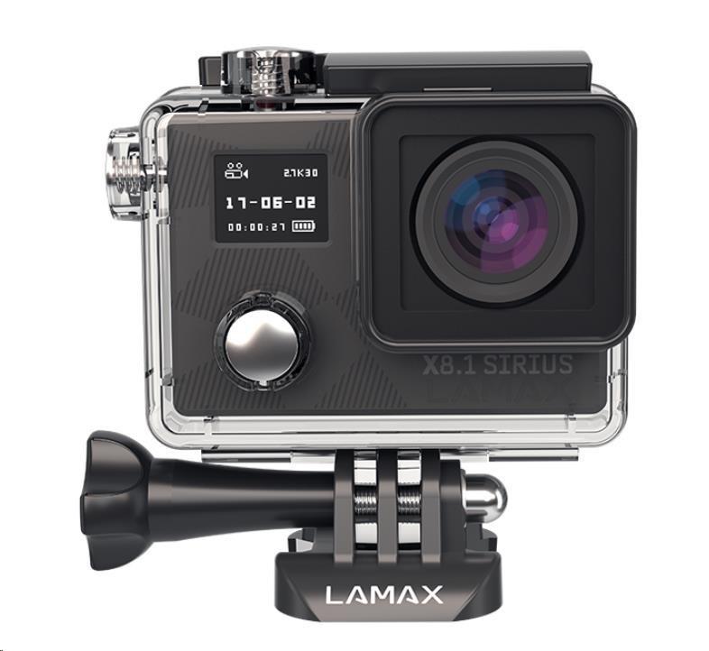 Outdoorová akční kamera LAMAX X8.1 Sirius 8594175351996