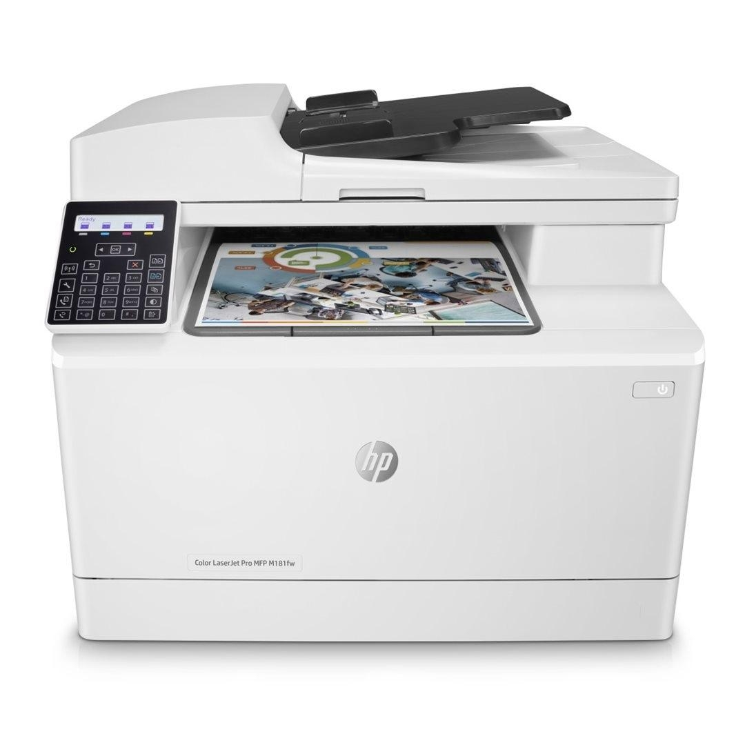 HP Color LaserJet Pro MFP M181fw (A4, 16/16 ppm, USB 2.0, Ethernet, Wi-Fi, Print/Scan/Copy, Fax) T6B71A#B19