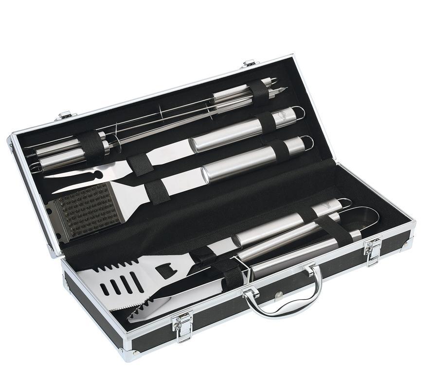 Grilovací sada v kufříku Küchenprofi BBQ-Set Phoenix, 8-dílů
