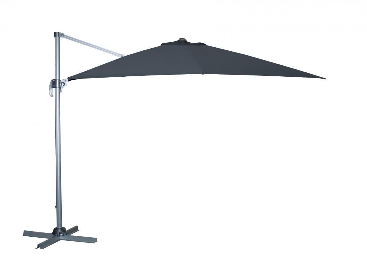 Slunečník Doppler RAVENNA Axial 275x275 cm - Antracit