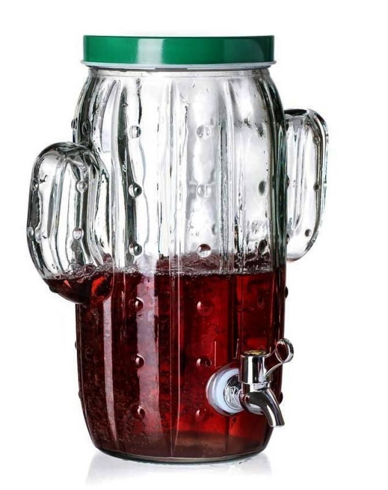 Ritzenhoff & Breker nápojový demižón s kohoutkem Kaktus, 5 litrů