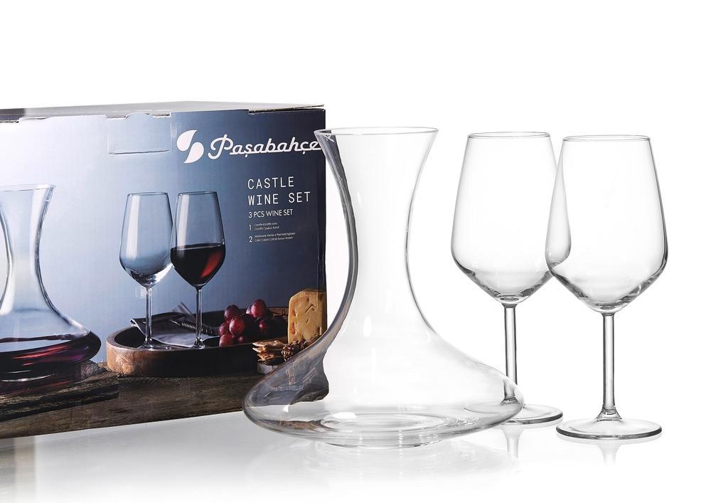 Ritzenhoff & Breker karafa na víno se sklenicemi Castle