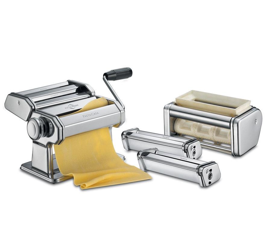 Küchenprofi set strojku na těstoviny a nástavců PASTACASA CLASSIC