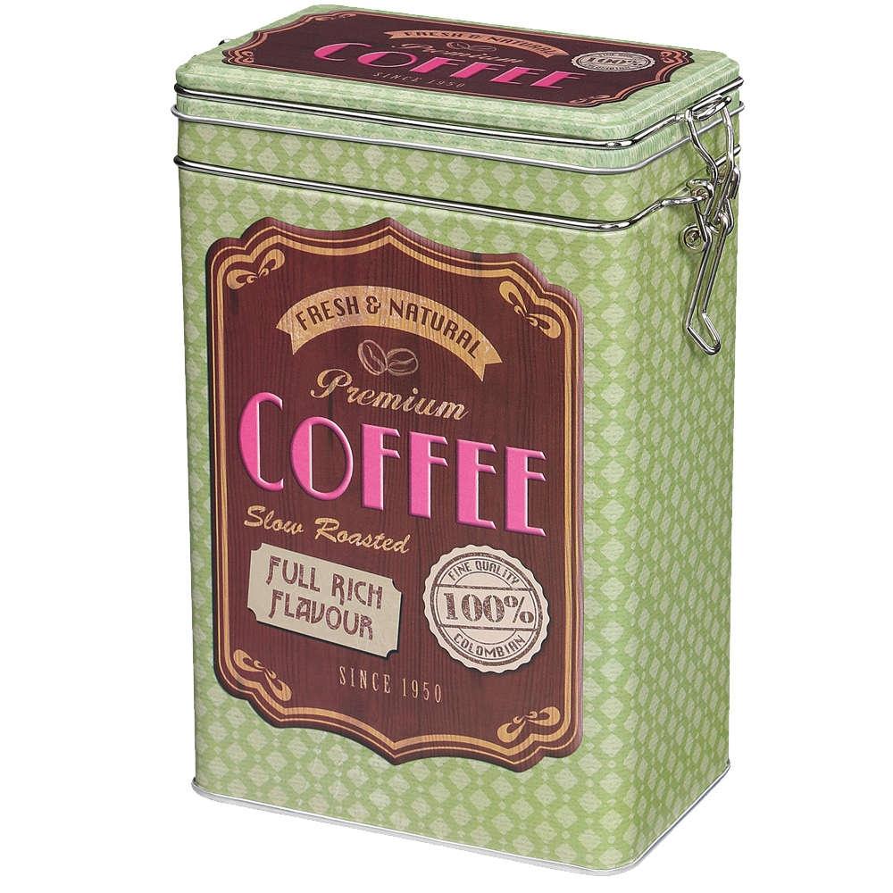 Zassenhaus retro dóza na kávu - zelená