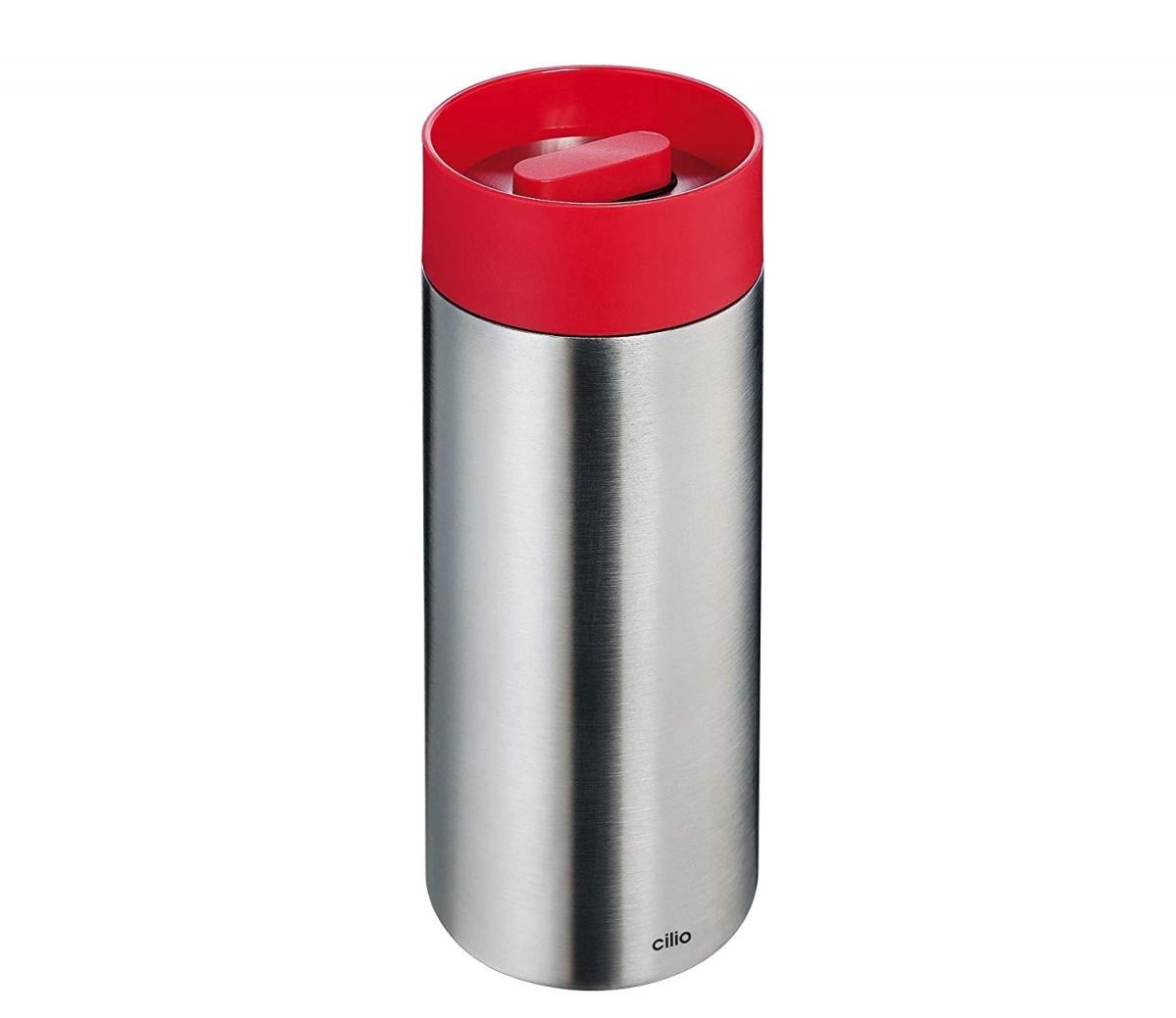 Cilio termohrnek Perfetta, 350 ml - červená