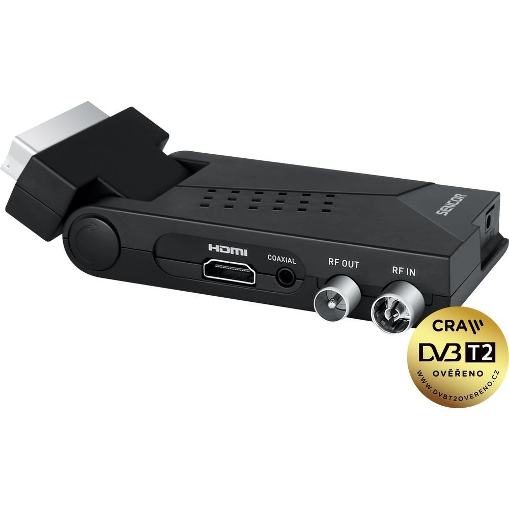 Set-top-box SENCOR SDB 550Ts funkcí Timeshift, nahráváním a dalšími vychytávkami