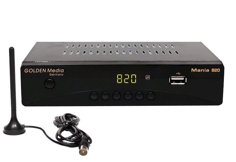 FULL HD DVB-T2 set-top-box Golden Media Mania 820
