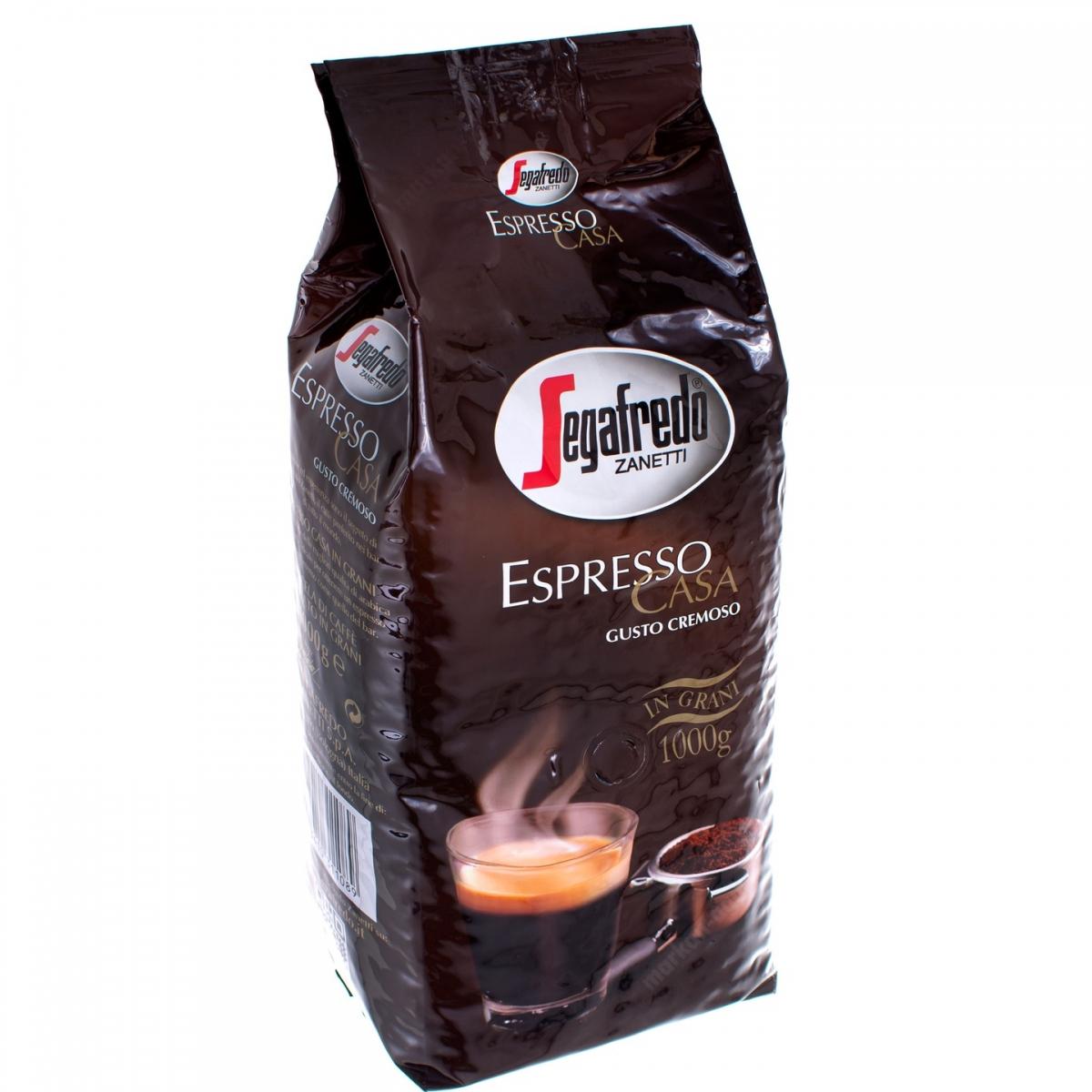 Segafredo Espresso Casa zrnková káva, 1 kg
