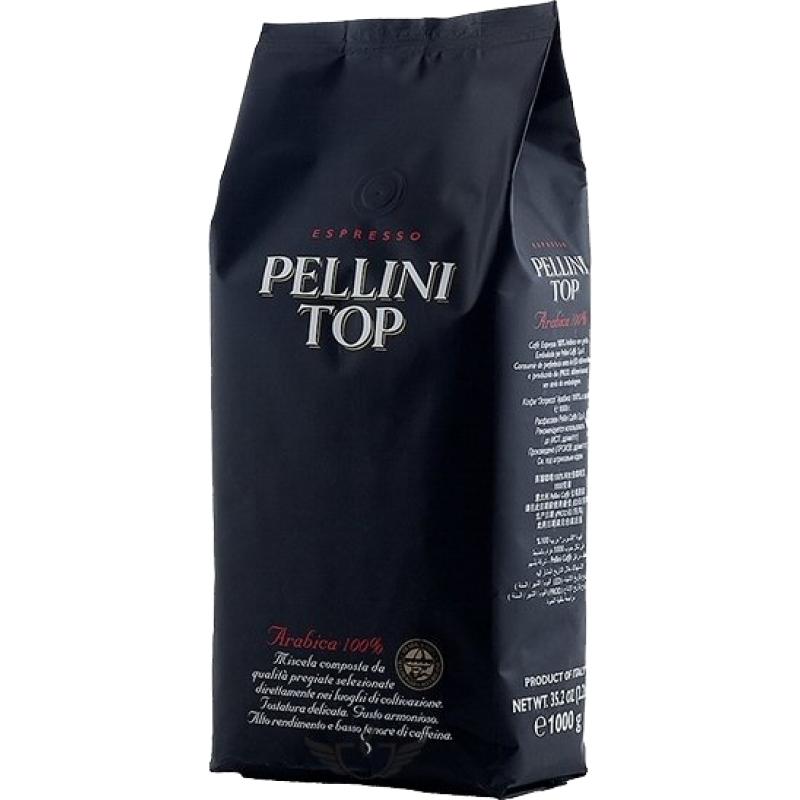 Pellini Top zrnková káva, 100% Arabica, 1 kg