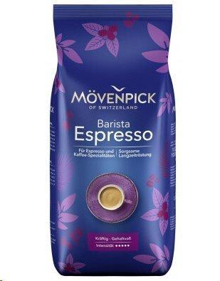 Mövenpick Espresso zrnková káva, 100% Arabica, 1 kg